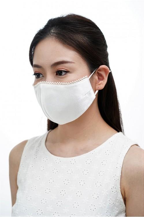 Ear Loop - Pearl Mask (White)