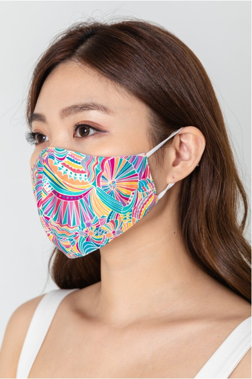 Ear Loop - Carnival Colors Mask
