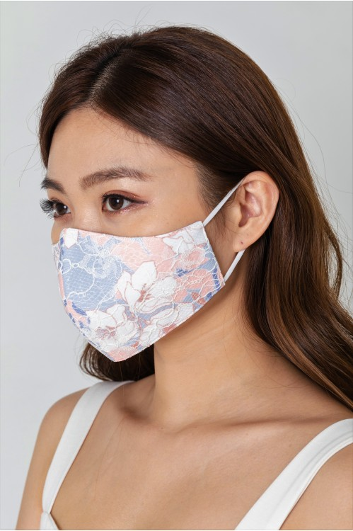 Ear Loop - Embroidered Lace Mask