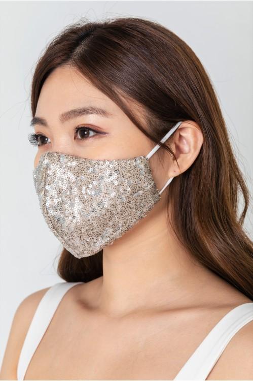 Ear Loop - Sequinned Mask